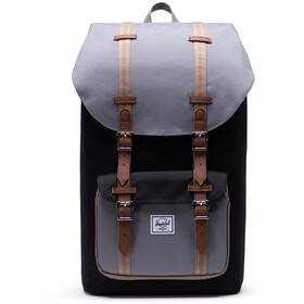 Herschel Little America Rygsæk, black/grey/pine bark/tan